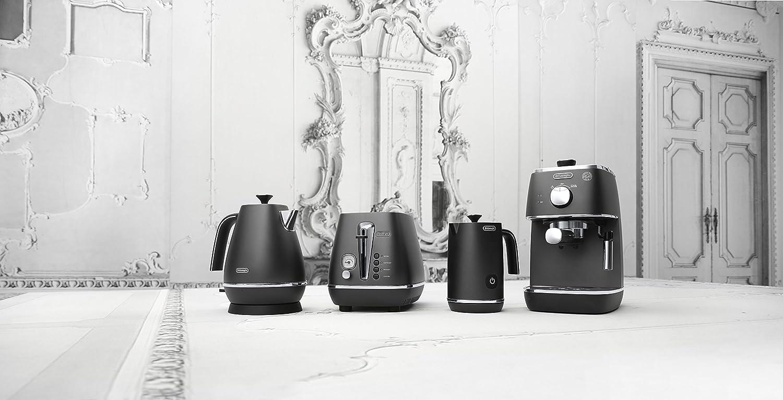 Distinta Frühstücksserie für die Espresso Siebträgermaschine bis 200 Euro De'Longhi ECI 341.CP DISTINTA