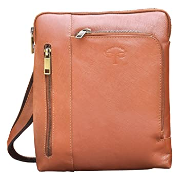 Buy Tamanna Stylish Men And Women Brown Genuine Leather Sling Bag Online at  Low Prices in India - Amazon.in 52da700465fd4