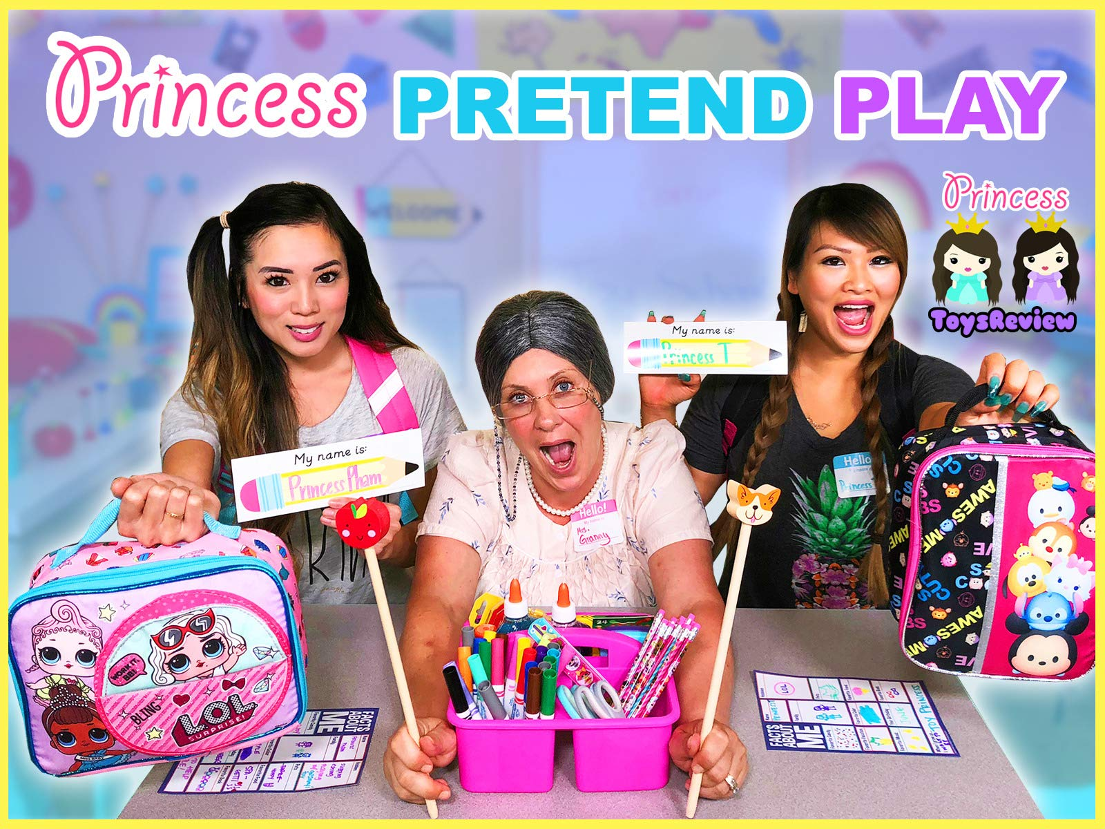 Clip: Princess Pretend Play - Season 1