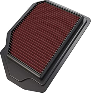 K&N Engine Air Filter: High Performance, Premium, Washable, Replacement Filter: 2015-2019 Hyundai/Genesis (Genesis Sedan, G80), 33-5019