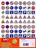 Gommettes - 40 Panneaux de signalisation x 320 - APLI AGIPA