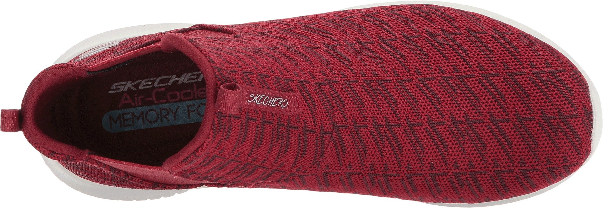 Skechers Women's Ultra Flex High Rise Pull On Fashion Sneaker Shoes Red Size 8.5 by Skechers (Image #2)
