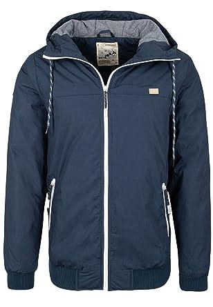 c03de50d6f51 Eight2Nine Herren Winterjacke mit Kapuze   Sportliche Basic Jacke warm  gefüttert  Amazon.de  Bekleidung