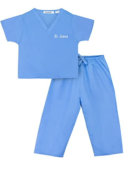 Amazon Personalized Scrubs For Baby And Children Clothing