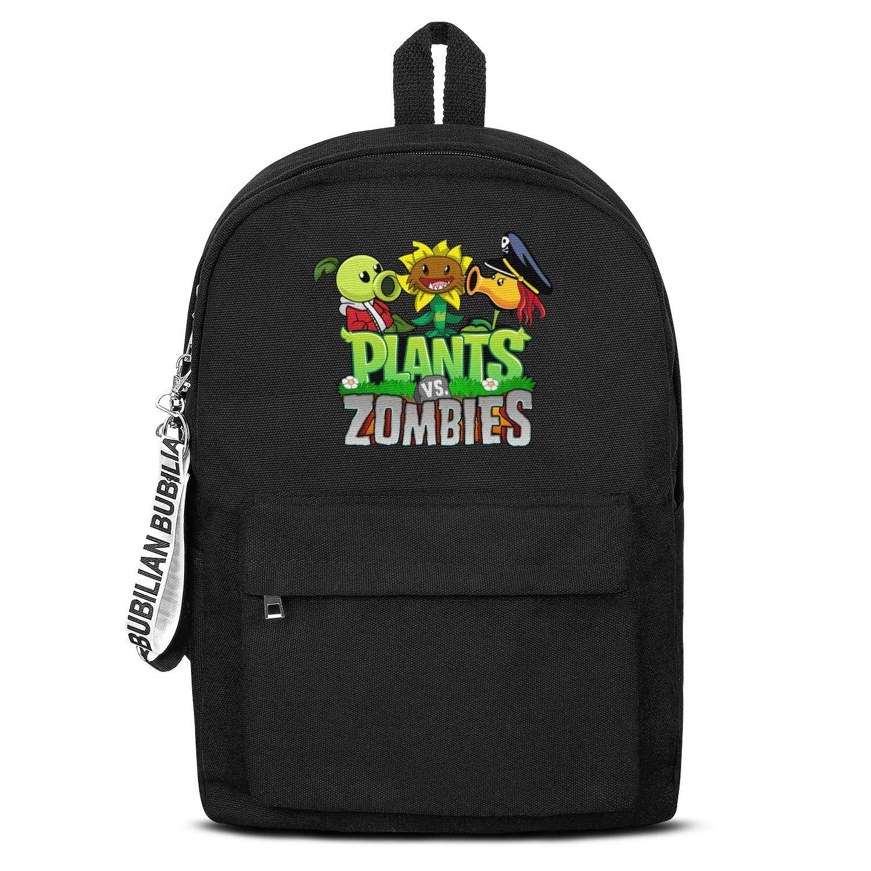 Amazon.com | Backpack Plants-vs-Zombies-logo-peashooter ...