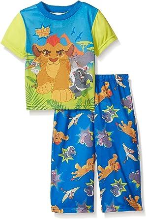 New Disney Toddler Boys 2pc Lion King Simba Pajamas Set Multi-Colors