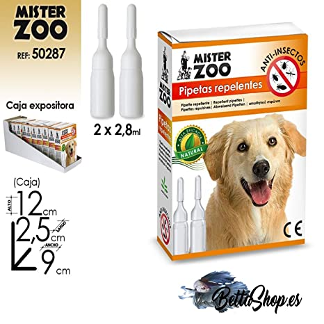 PIPETAS ANTIPARASITOS PARA PERROS EFICACIA NATURAL
