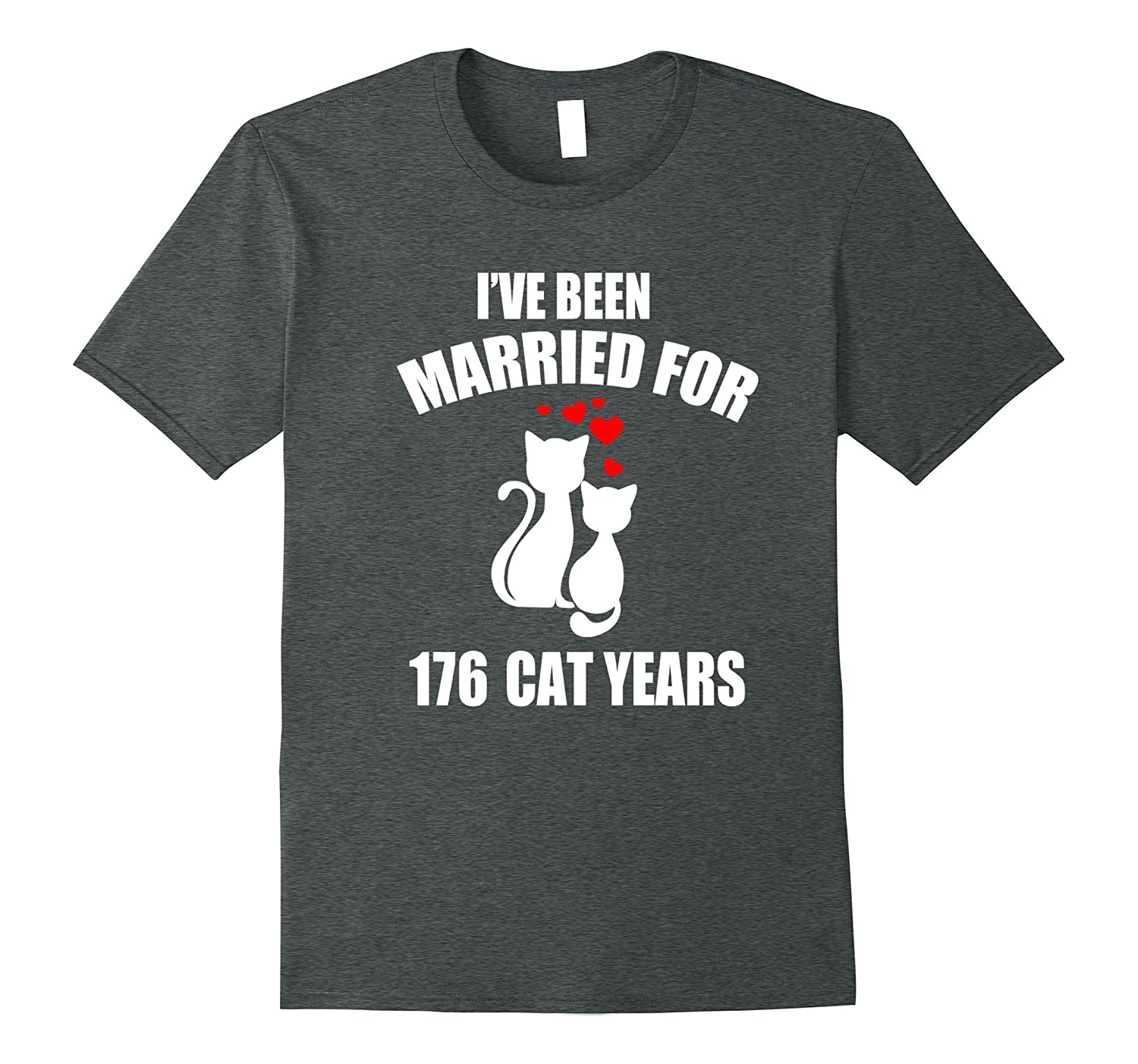 40th Wedding Anniversary T Shirt 176 Cat Years Gift Teevkd Teevkd