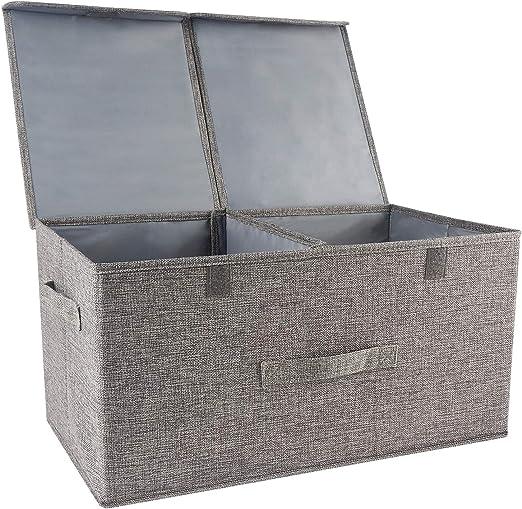 Organizador de ropa cajas de almacenamiento con separadores ...