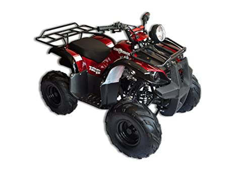 Smart DealsNow brings Brand new 125D - ATV Red with Automatic Transmission  and Reverse