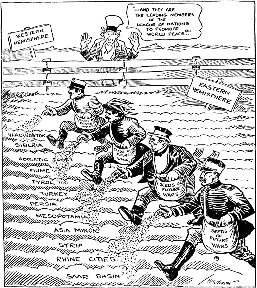 Amazon Com Cartoon League Of Nations 1920 Cartoon For The Chicago Tribune Critical Of The Members Of The League Of Nations For Failing To Uphold Their Mandate To Promote World Peace And Instead