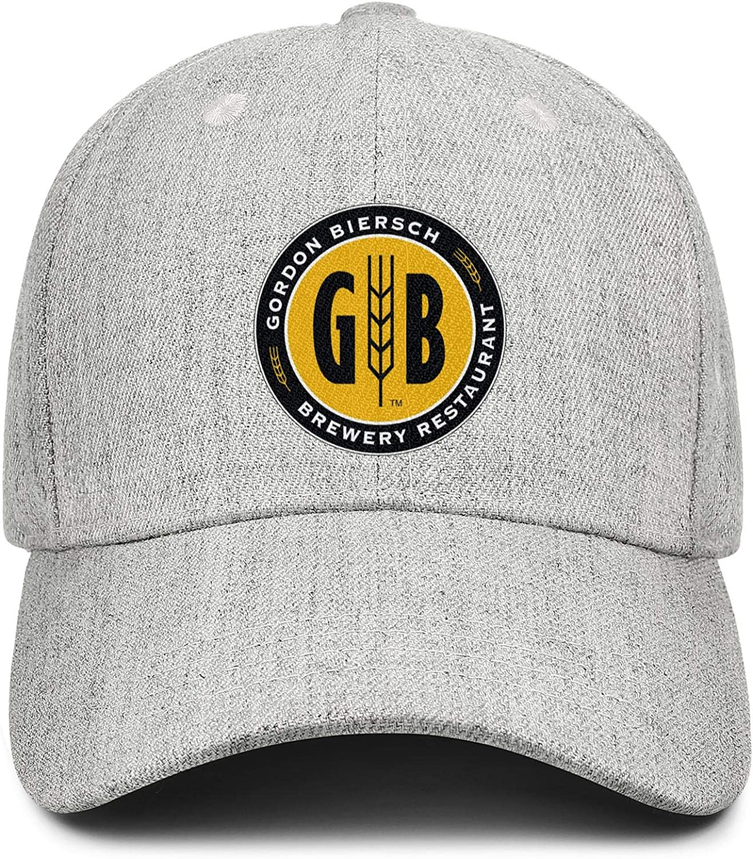 Gordon Biersch Brewing Women Men Wool Trucker Cap Adjustable Snapback Sun Hat