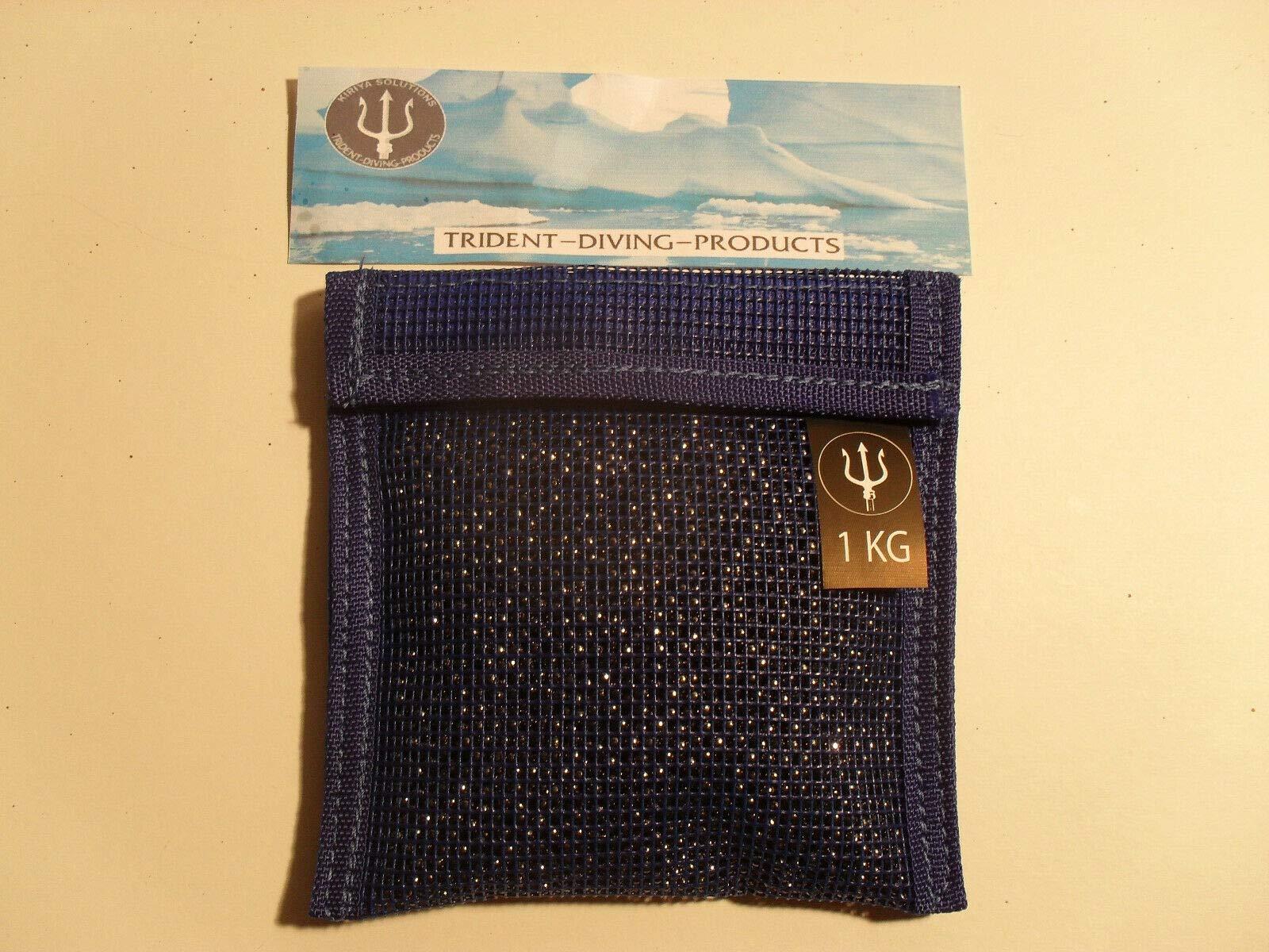 3kg Lead Shot Divers Pouches EMPTY Bags x 5