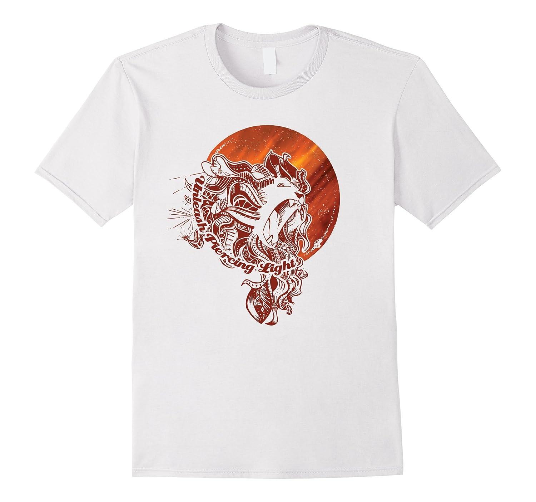 Lion Sun - Unleash Piercing Light - Shirt-TD