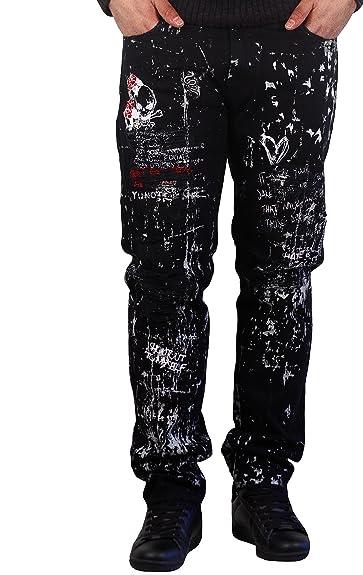 00e3935a Amazon.com: Jordan Craig Legacy Edition Graffiti Aaron Jeans: Shoes