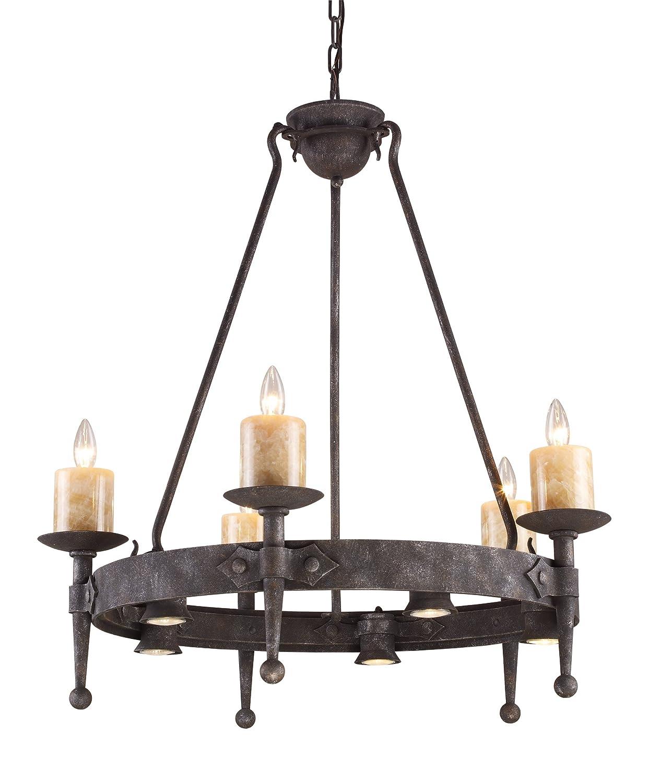 Elk 1400555 cambridge 55 light chandelier in moonlit rust elk 1400555 cambridge 55 light chandelier in moonlit rust amazon arubaitofo Image collections
