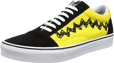vans old skool jaune et noir