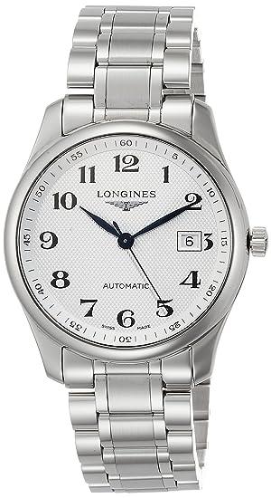 Longines - Master Collection - Reloj de pulsera analógico automático para hombre: Amazon.es: Relojes