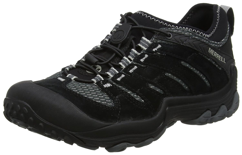 Merrell Cham 7 Limit, Zapatillas de Trekking y Senderismo para Hombre 49 EU|Negro (Black)