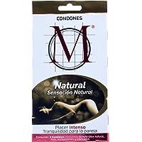 Condones M Natural 3 piezas