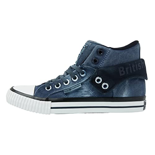 Sneakers casual grigie per donna British Knights