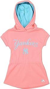 OuterStuff MLB Little Girls Toddler/Kids Celebrate Dress - Team & Color Options