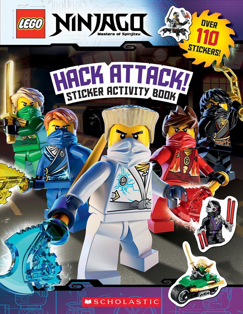 Hack Attack!: Sticker Activity Book Lego Ninjago Lego ...
