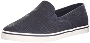Lauren Ralph Lauren Women's Janis-Sk-V Fashion Sneaker, Navy, 5 B US