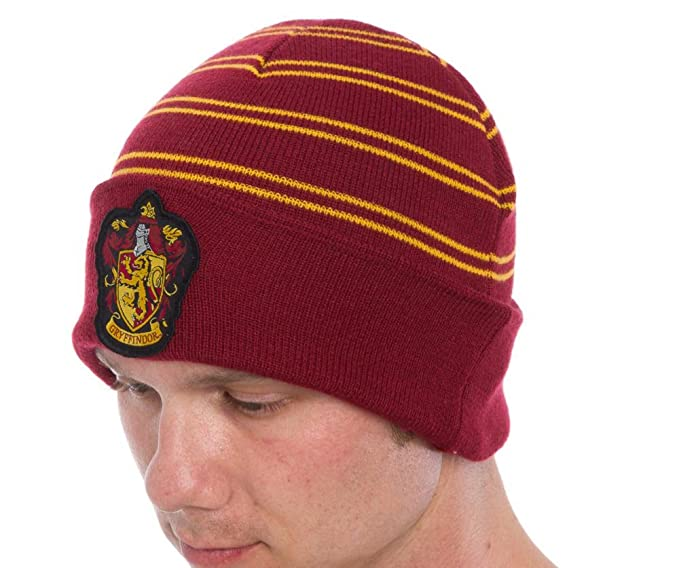562cc230c6d HARRY POTTER All Houses Cuff Beanie Gryffindor Ravenclaw Hufflepuff  Slytherin (Gryffindor)