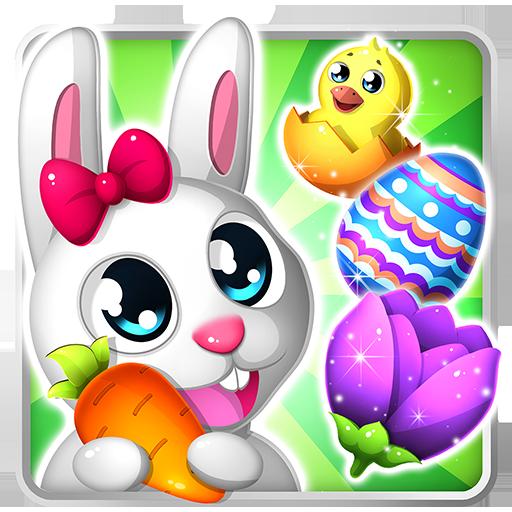 (Easter Bunny Swipe: Match 3 Eggs )