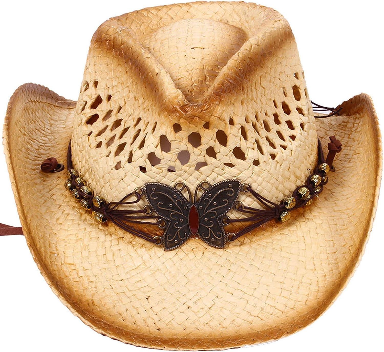 D Diana Dickson Kids Straw Cowboy Hat w//Hat Band