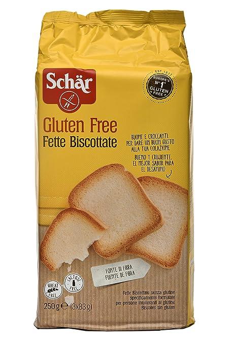 Bizcochos Schar Sin Gluten 250g: Amazon.es: Salud y cuidado ...