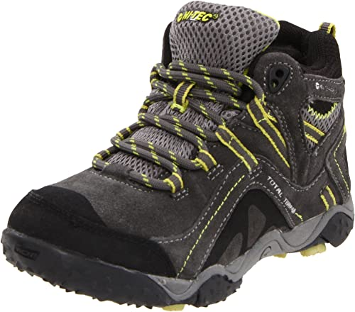 Hi-tec Nepal Wp Jrg Girl/'s Warm Grey Lace Up Waterproof Ankle Hiking Boots New