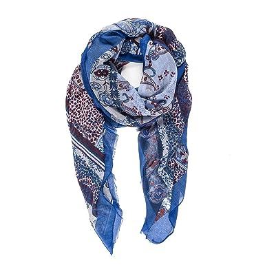 primera vista clásico amplia selección Melifluos Pañuelos Fular Foulard Mujer Bufandas Estampado Diseño Español  100% Viscosa