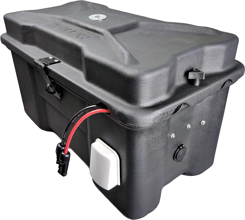 None 100Ah SLA 12V Cutting Edge Power CEP Fortress Waterproof MPPT Solar Generator Battery Box with Inverter USB