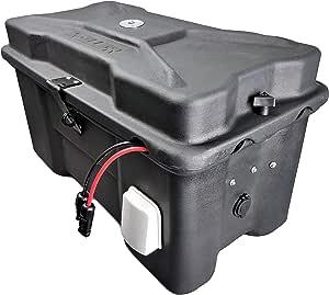 Cutting Edge Power CEP Fortress Waterproof MPPT Solar Generator Battery Box with Inverter, USB, 12V. None (100Ah SLA)