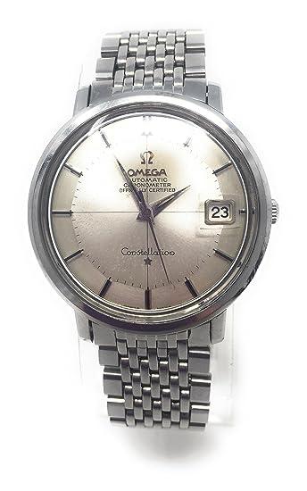 Omega Constellation automatic-self-wind Mens Reloj 168.004 (Certificado) de segunda mano