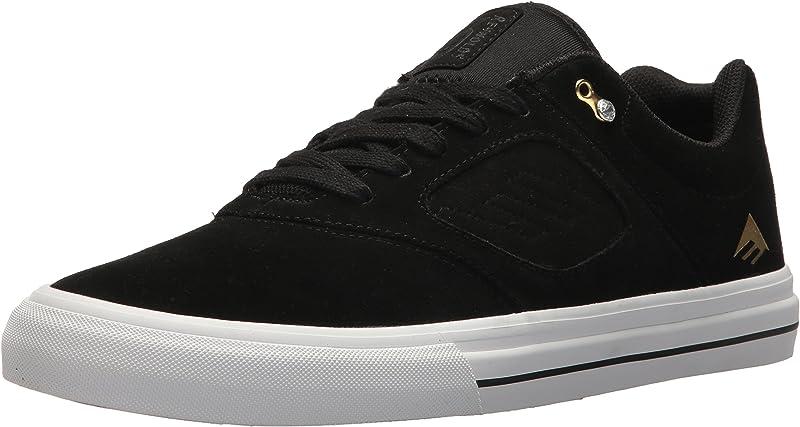 Emerica Reynolds 3 G6 Vulc Sneakers Herren Schwarz/Weiß/Gold Größe 36 1/2 – 48
