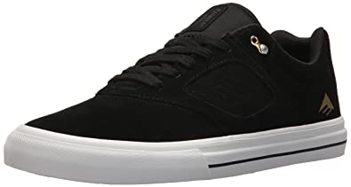 Emerica Reynolds Low Vulc Shoes 38 EU Black Black Grey a6KBzIR