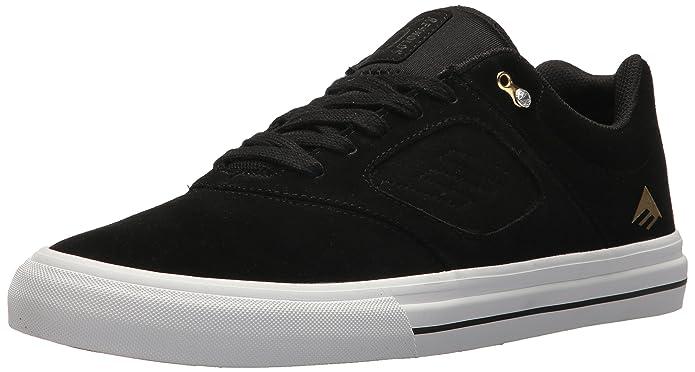 Emerica Dissent Shoes 39 EU Black White Gold TsfBIMD1