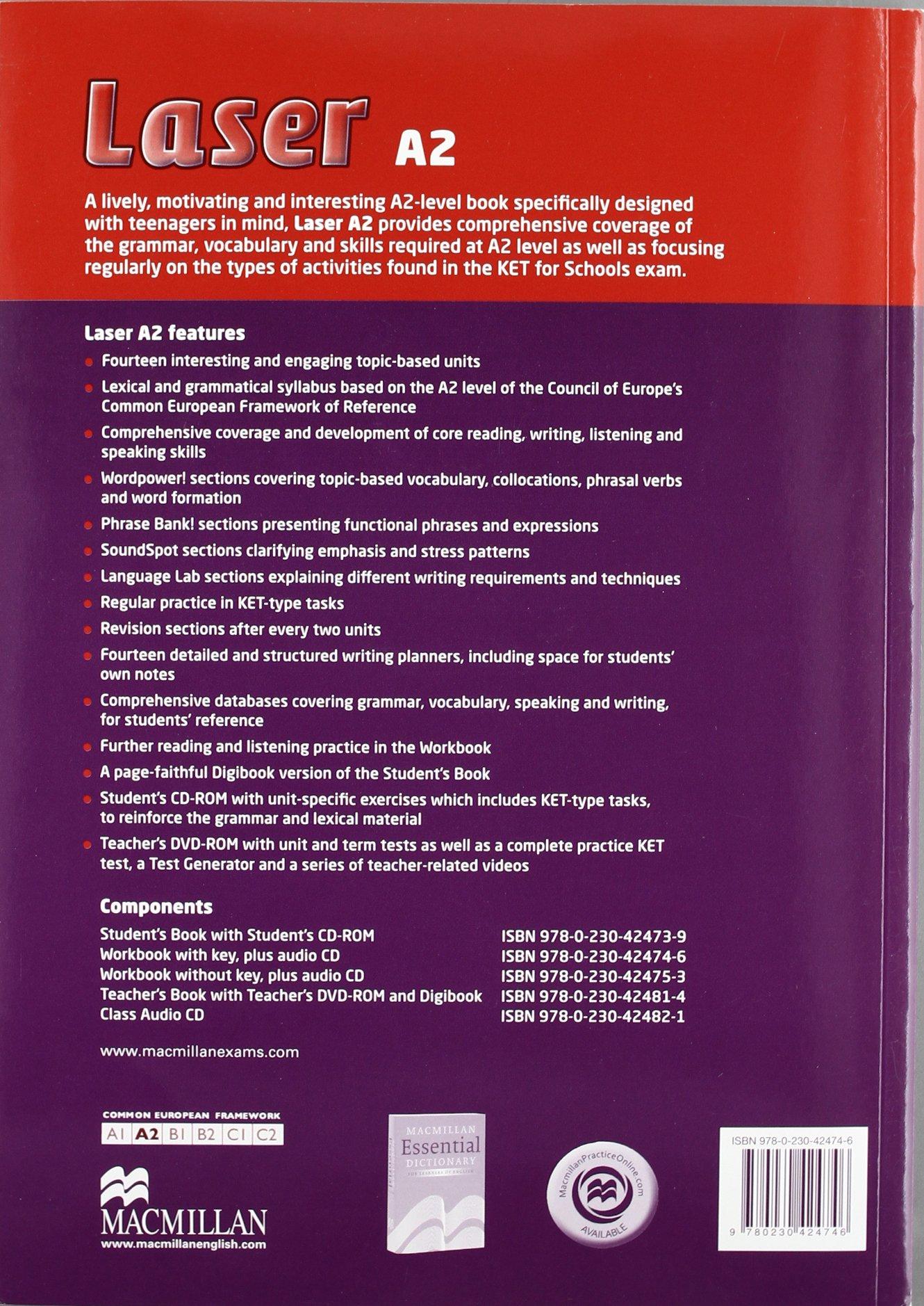 LASER A2 Wb Pk +Key 3rd Ed (Laser 3rd edit): Amazon.es: Steve ...