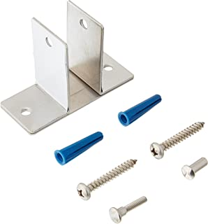 Satin Finish Pack of 2 3//4 3//4 T-27 Torx Cast Stainless Steel Sentry Supply 656-2915 One Ear Wall Brackets