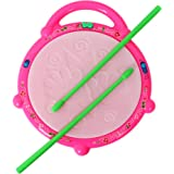 ANG™ Flash Drum with 3D Multi Colour Light and Music for Kids