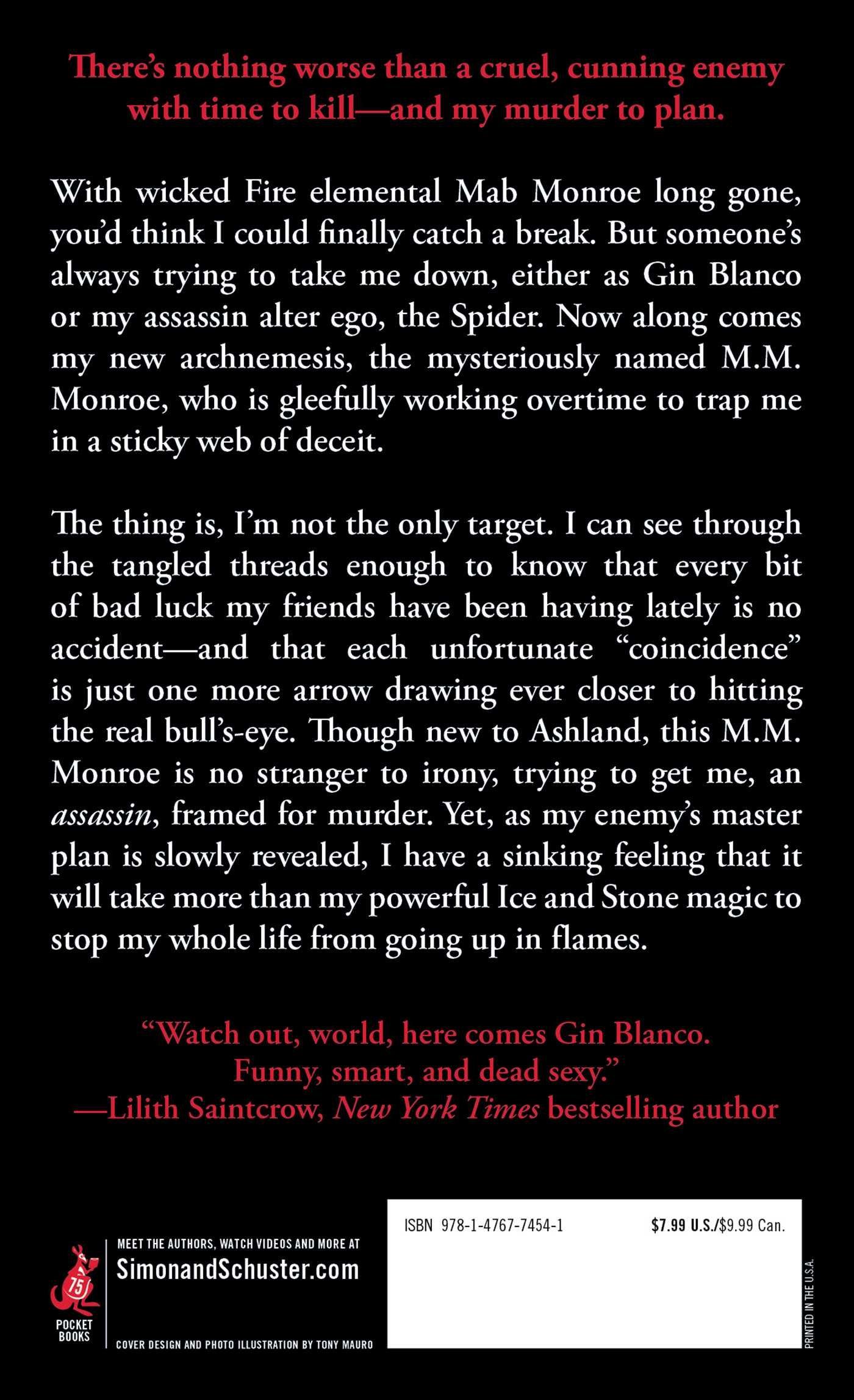 Black Widow (elemental Assassin): Jennifer Estep: 9781476774541:  Amazon: Books