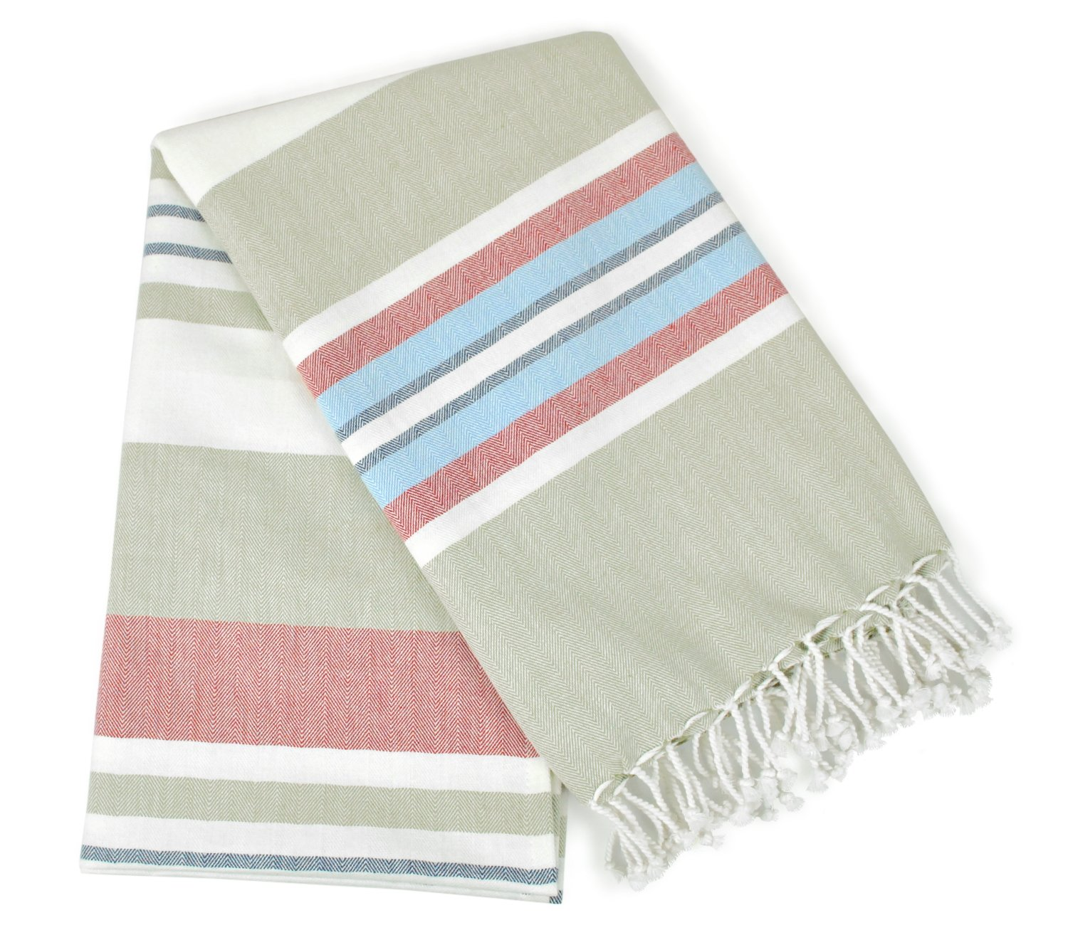 Turkish Peshtemal Large Beach Towel Set of 6 for Bath Spa Travel Yoga Gym Yacht Pool Pilates Pareo Fouta Shawl Blanket Tablecloth Camping Pack of 6 38 x 70 Absorbent-Quick Dry 100/% Cotton