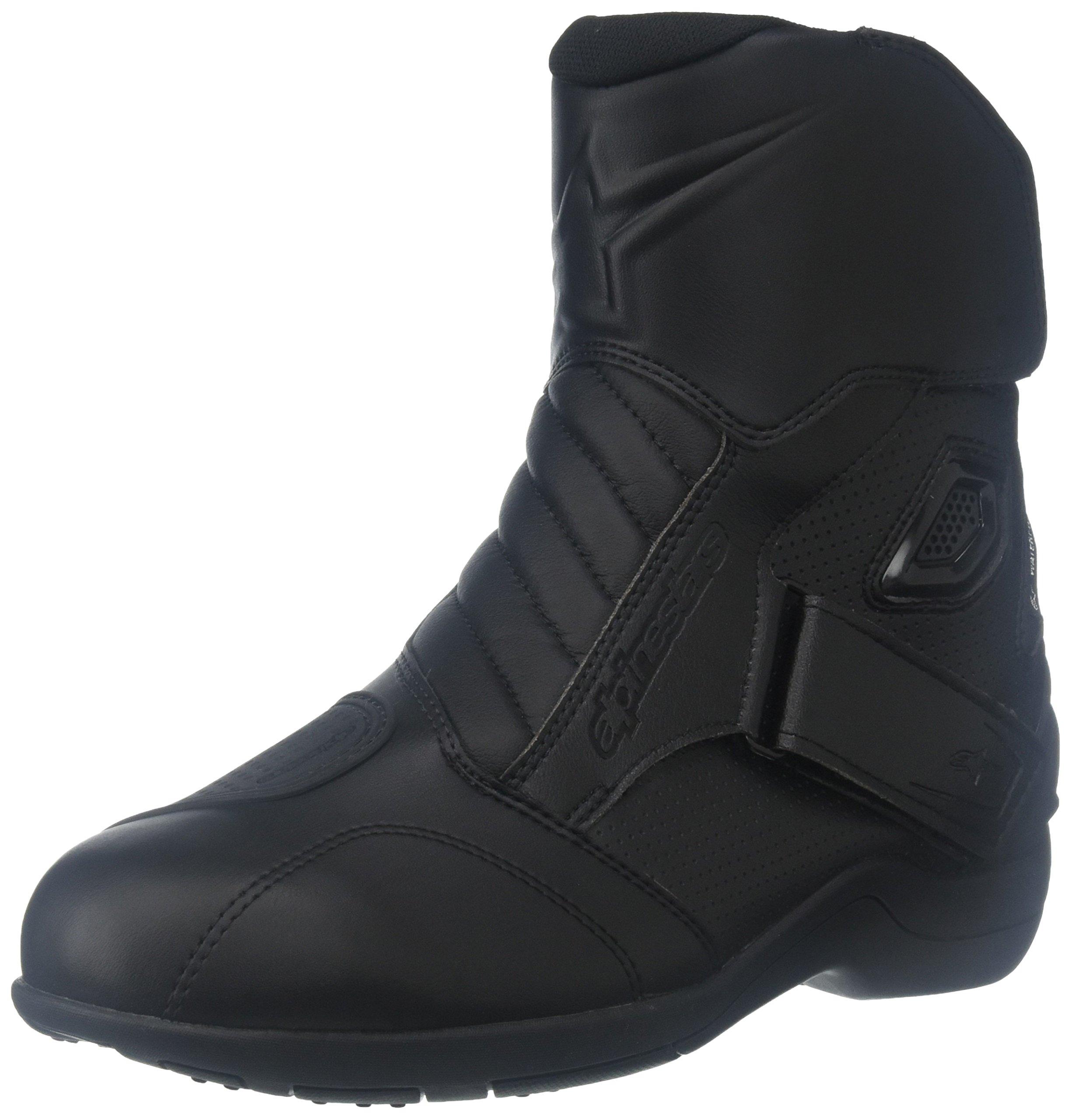 Alpinestars Gunner Waterproof Men's Street Motorcycle Boots (Black, EU Size 46)