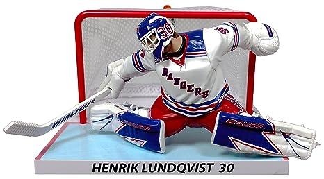quality design e93d0 340ef Henrik Lundqvist (New York Rangers) Goalie with Net 6