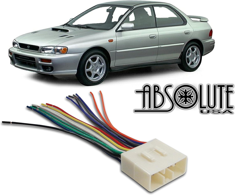 Amazon.com: Stereo Wire Harness Subaru Impreza 02 03 04 05 Aftermarket  Radio / Stereo Installation Wire Harness: Car ElectronicsAmazon.com