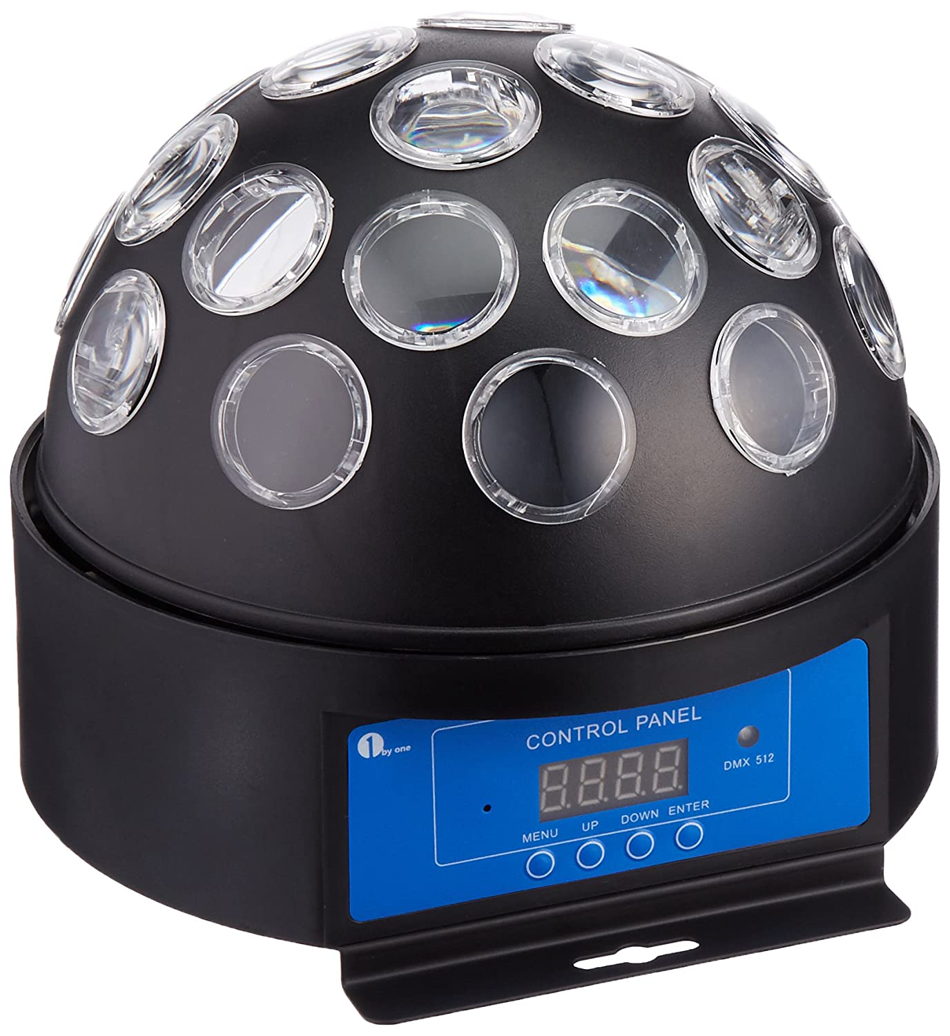 amazoncom 1byone 72inch dotted dome disco led light with sound activated and dmx512 control for halloween christmas home birthday karaoke