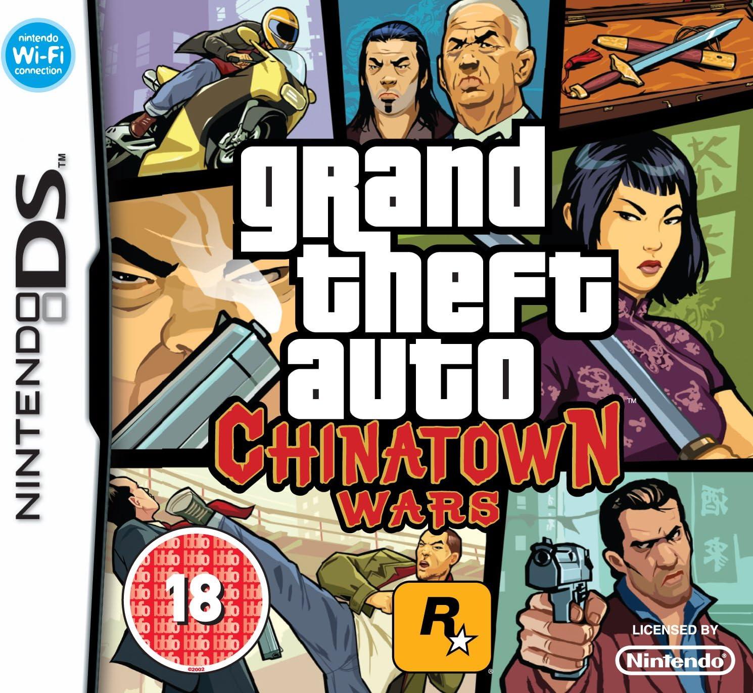 GTA: Chinatown Wars (Nintendo DS) [Importación inglesa]: Amazon.es: Videojuegos